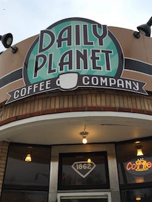 Daily Planet Coffee Company, North Buffalo, Welcome 716, Live local music, spoken word presentations