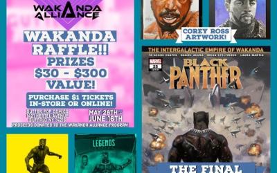Wakanda Raffle @ Gutter Pop Comics
