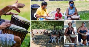 Free Drum Circles with Stephen Bell, Artpark, Welcome 716