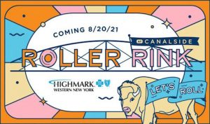 Roller Rink at Canalside Buffalo, Welcome 716, Events in Buffalo, NY